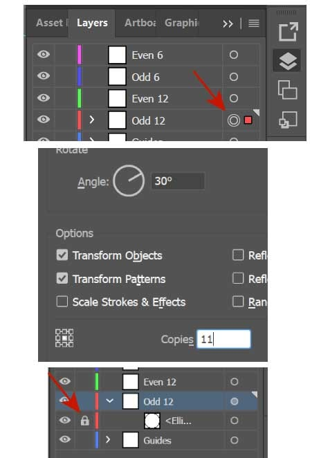 Apply effect to layer