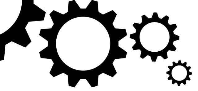cog wheel design in illustrator