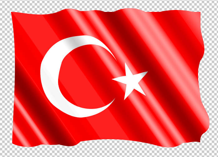 Turkish flag vector illustration pinterest