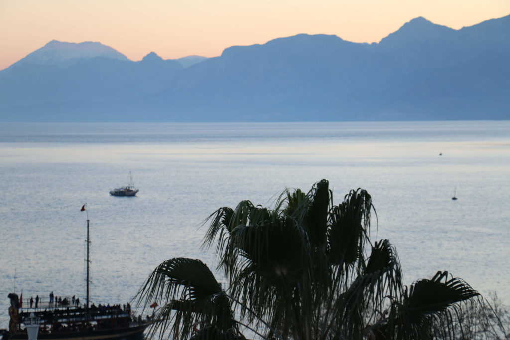 Picture from antalya bay